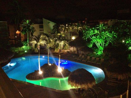Hotel La Pagerie: vue de notre chambre