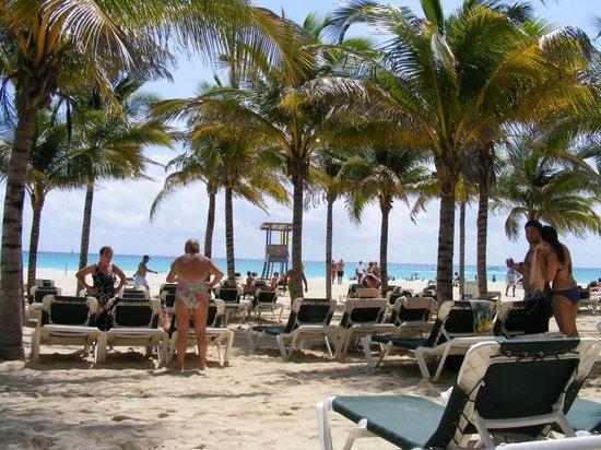 Hotel Riu Playacar: lovely beach