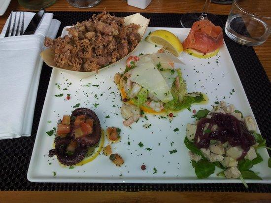 San Lorenzo Osteria: antipasto SLO