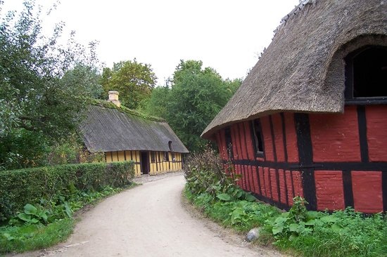 The Open Air Museum: Village street