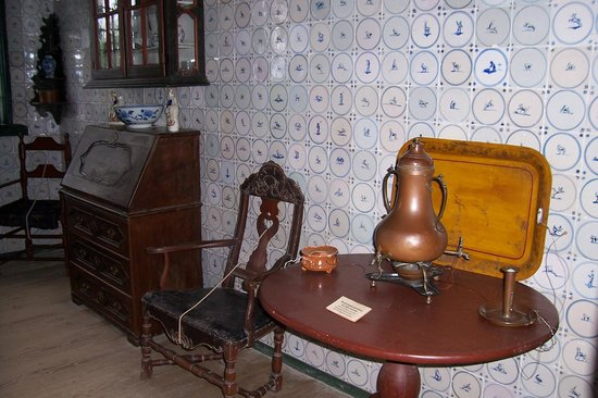 The Open Air Museum: Interior of one of the houses