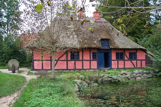 The Open Air Museum: One of the houses