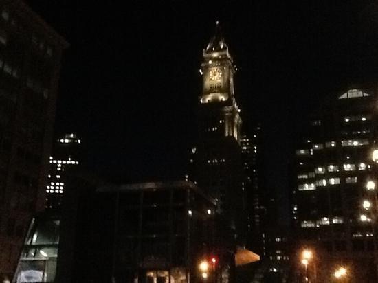 Boston Marriott Long Wharf: nighttime