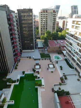 TRYP Madrid Chamartín Hotel: Vista desde la habitacion