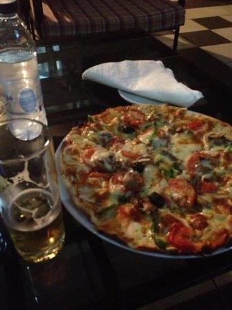 Pullman Douala Rabingha: pizza du Meridien