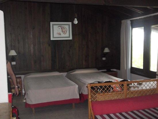 Villa Las Brujas: chambre