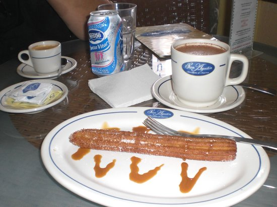 San Augustin Chocolates & Churros: ¡Ricos!