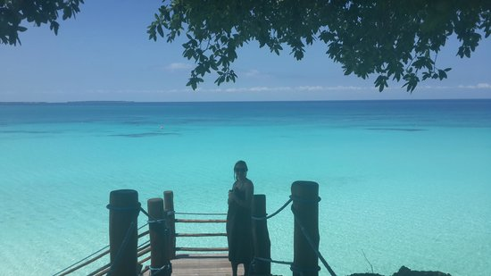 Hideaway of Nungwi Resort & Spa: yes, it is real.No photoshop work here...