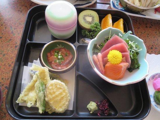New Amanoya: 昼食
