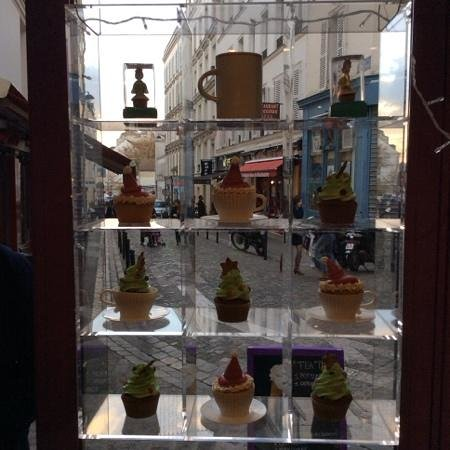 Miss cupcake: the cupcake's window