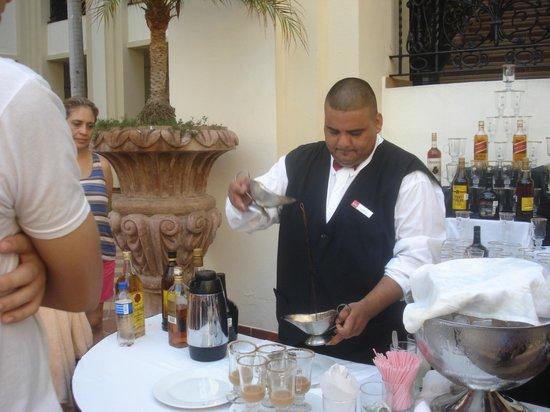 Hotel Riu Vallarta: mexican coffee time!!