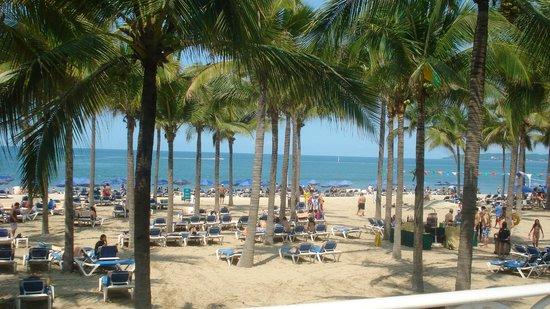 Hotel Riu Vallarta: beach