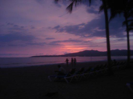 Hotel Riu Vallarta : beautiful sunsets