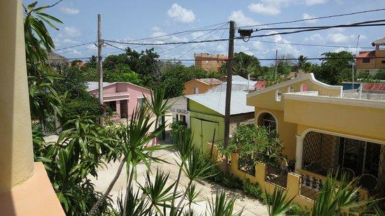 Hotel Villa Iguana: Aussicht vom Balkon