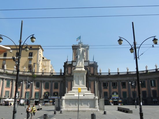 Centro Storico: In the middle of the Piazza