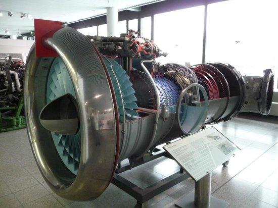 Deutsches Museum Verkehrszentrum: реактивный двигатель