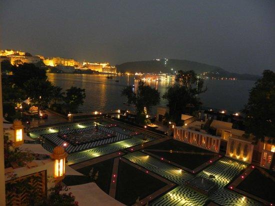 The Leela Palace Udaipur: Blick auf Udaipur