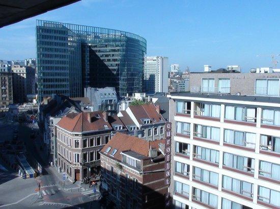 Hotel Silken Berlaymont Brussels: Vue de la chambre
