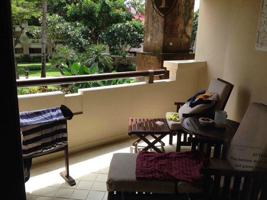 INTERCONTINENTAL Bali Resort: バルコニー