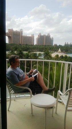 The Coral: Vista desde el balcón, lo mejor.