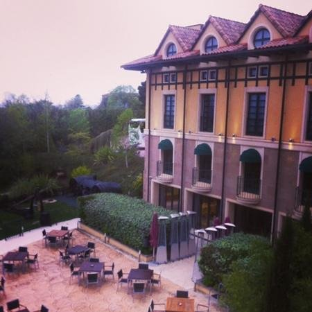Sercotel Villa de Laguardia Hotel : Вид из окна номера