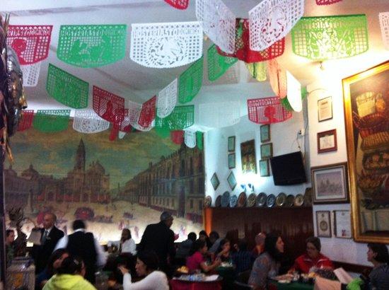 La Hosteria de Santo Domingo: Decoração com as cores do México