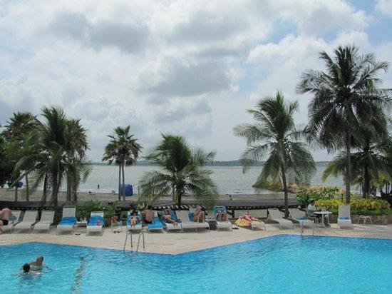 Hilton Cartagena: View of the beach