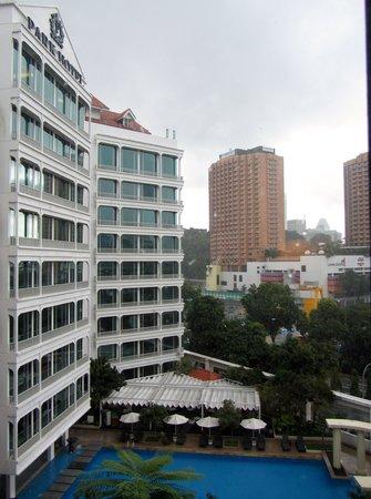 Robertson Quay Hotel: utsikten