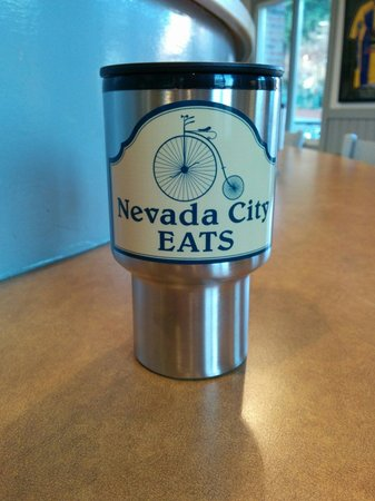 Nevada City Eats: They sell coffee mugs.