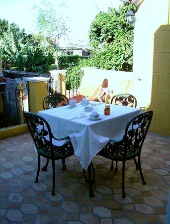 Hostal Las Margaritas: Good food