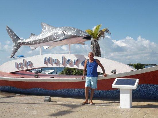 Mia Reef Isla Mujeres: yendo a Playa Sur