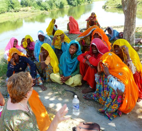 Village ladies chat