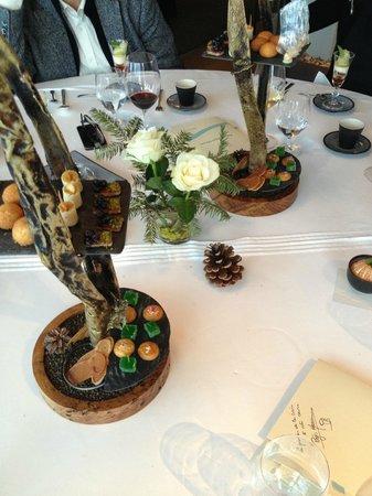 Hotel Restaurant Regis & Jacques Marcon : Des douceurs avant le dessert