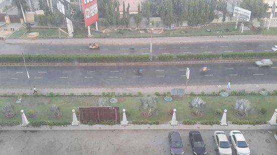 Regent Plaza Hotel: From room window