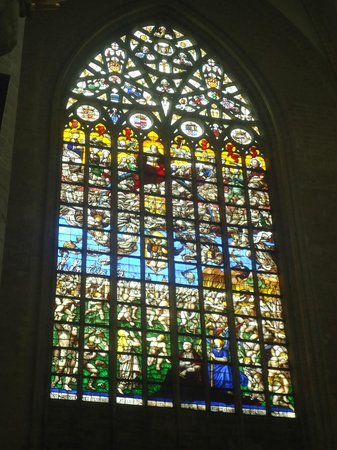 Notre Dame du Sablon : Vitrais