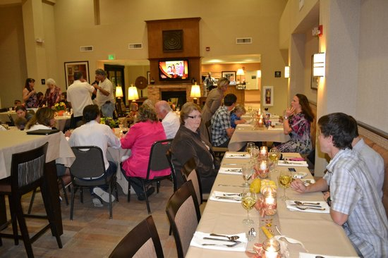 Hampton Inn & Suites Phoenix Glendale - Westgate: Thanksgiving Dinner
