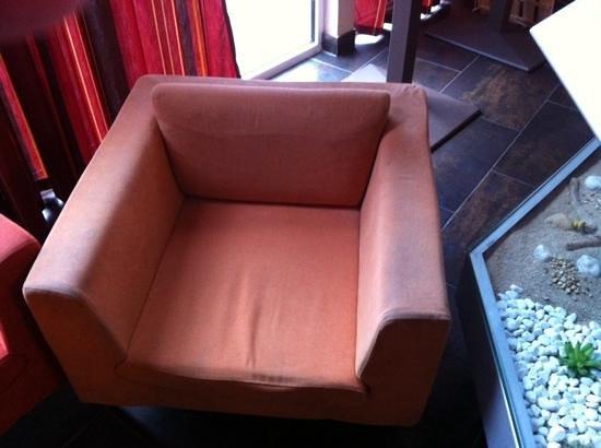 Relais du Plessis Resort: etat fauteuil