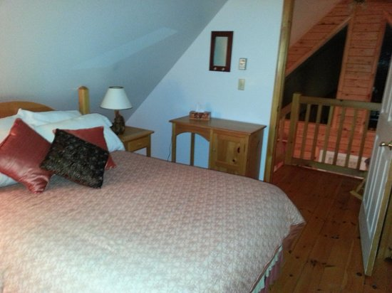 Amet View Chalets : Upstairs bedroom
