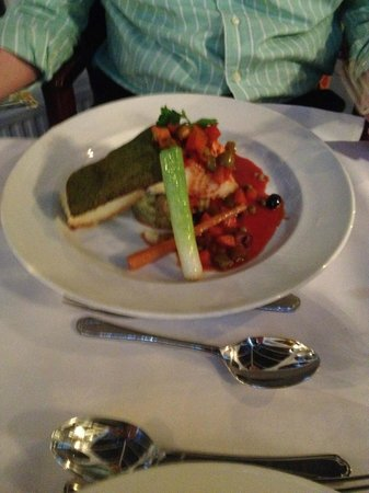 Best Western Buxton Lee Wood Hotel: Cod with Herb Crust - again fantastic...