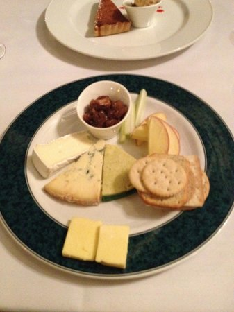 Best Western Buxton Lee Wood Hotel: Cheese Board