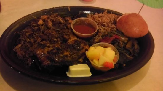 Marley's: Jamaican Jerk Platter