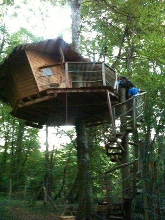 Parc de la Belle : la cabane du pêcheur