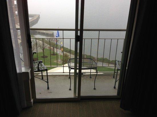 Woodmark Hotel & Still Spa: Balcony of king sized room
