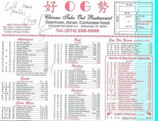 O G Chinese Restaurant Mishawaka Photos Restaurant Reviews Order Online Food Delivery Tripadvisor