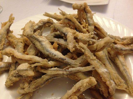 Tresculturas: Boquerones fritos, no tiene nada que envidiar a los de la Carihuela.