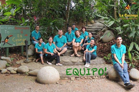 La Cusinga Eco Lodge: Team Cusinga!