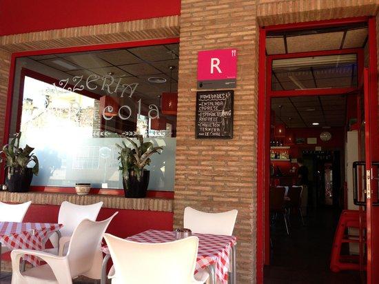 Pizzeria la Rucola : front