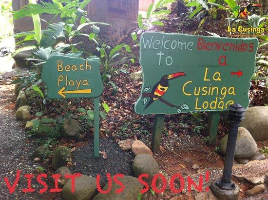 La Cusinga Eco Lodge: Welcome to La Cusinga