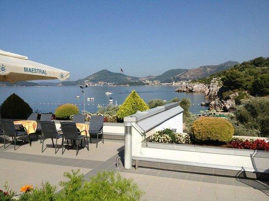 Maestral Resort & Casino: Terrazza ristorante