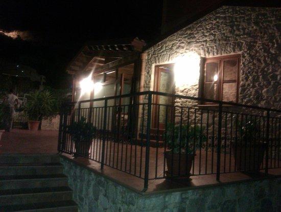 San Giovanni Gemini, Italie : panoramica del ristorante